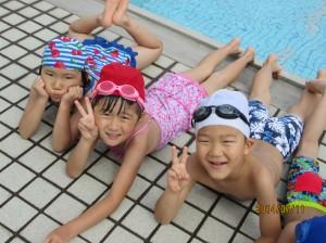 プール遊び(2)